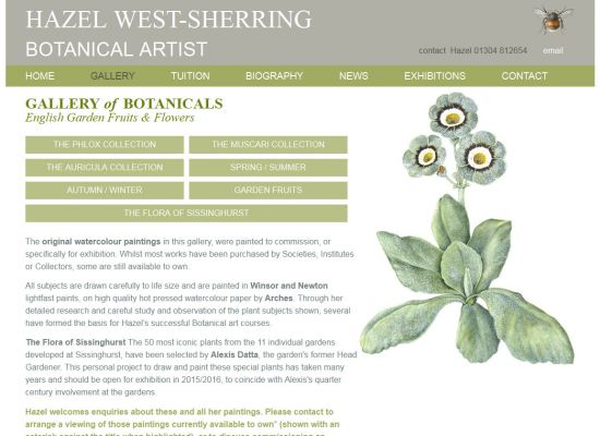 Hazel West-Sherring Botanical Artist