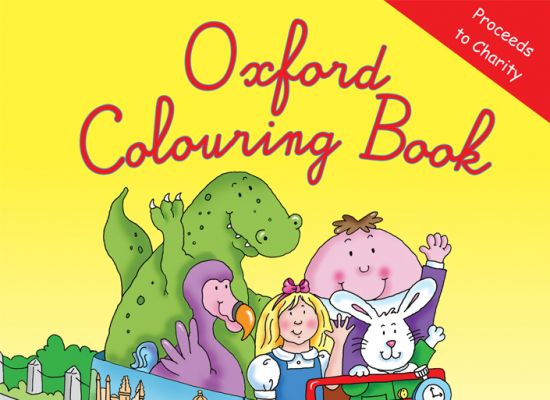 Oxford Colouring Book Cover