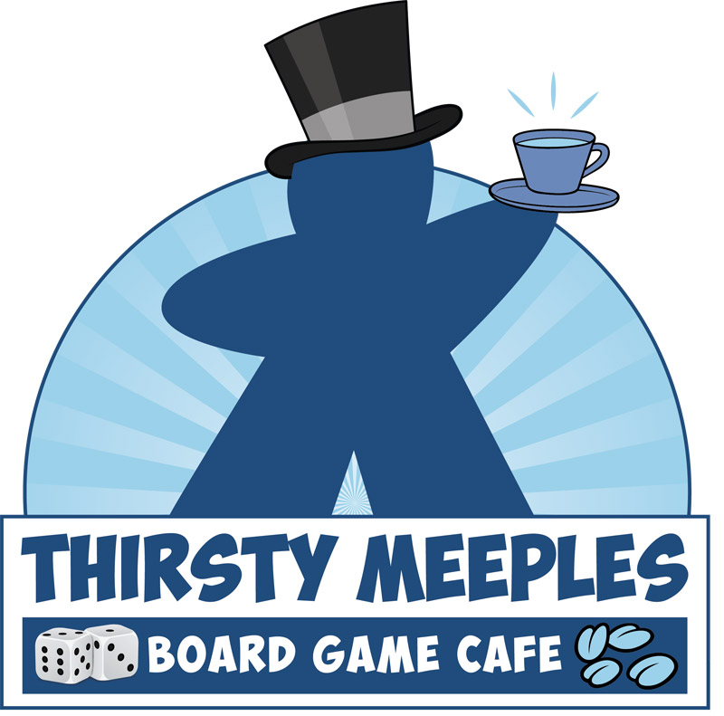 Thirsty Meeples Logo Design