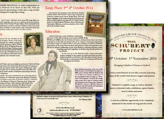 Oxford Lieder Festival Programme
