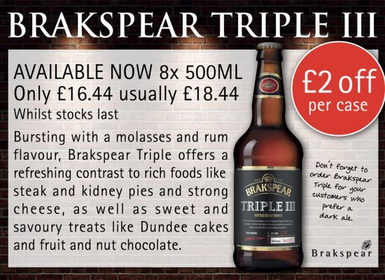 Brakspear Triple Advertisement