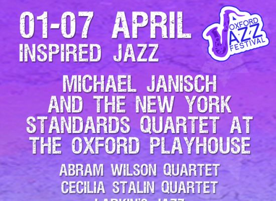 Oxford Jazz Festival Advertisement