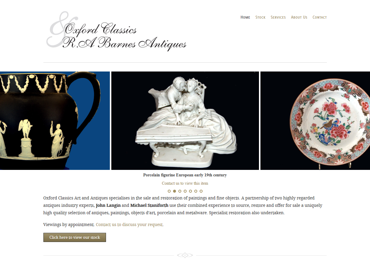 Oxford Classics Art and Antiques