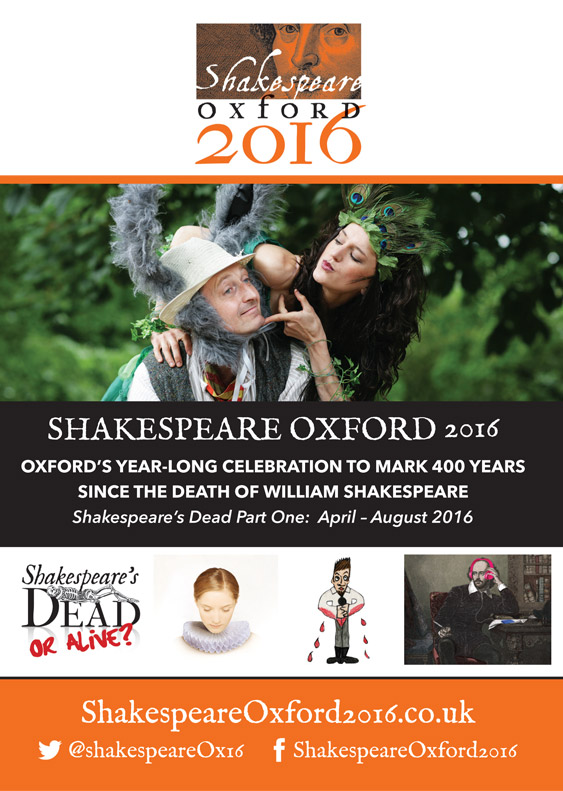Shakespeare Oxford Festival Programme