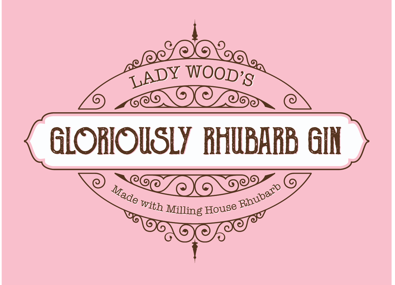 Lady Woods Gin Label